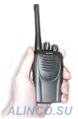 Alinco DJ-344 - профессиональная портативная (носимая) рация