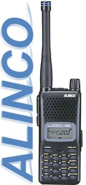 Alinco DJ 496 (T/E/TA2) - переносная радиостанция