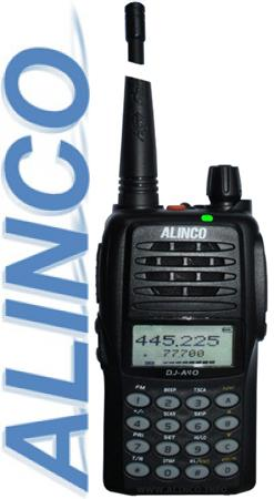 Алинко DJ A40 -    портативная радиостанция