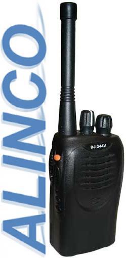 ALINCO DJ-344 V (VHF) переносная радиостанция со скремблером