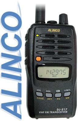 Alinco DJ-S17 переносная LPD радиостанция