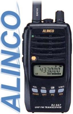 Alinco DJ-S47 переносная LPD радиостанция
